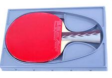 Double Happiness Table Tennis Racket Paddle Shakehand HURRICANE 3 Professional