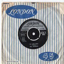 "Del Shannon tanto tiempo Bebé 7"" solo 1961"
