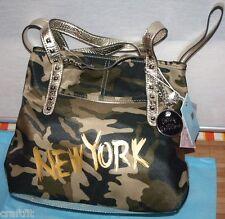 kathy van zeeland new york tote shopper camo H55905 Design außergewöhnlich  NEU