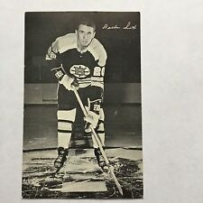 1970 Boston Bruins Team Issue Postcard Size Hockey Card Dallas Smith VG/EX Rare