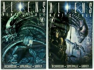 Aliens Newt's Tale Part 1 & 2 Graphic Novels Comic Dark Horse 1992 Lot
