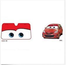 New Cartoon Car Windshield Sun Shade  Big Eyes  Cars Front Red Cute New