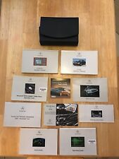2001 Mecedes-Benz S430 Owner's Manual and Case