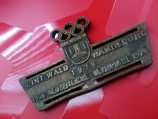 TSV WEIDEN 9.INT WANDERUNG 1896 1976 1979 NEUZEITLICHE OLYMPIADE OLYMPIC