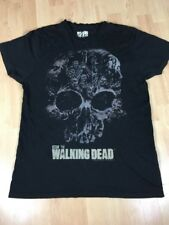 Official T shirt The Walking Dead Zombie Skull Collage XL Extra Large