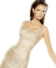 LA SPOSA PRONOVIAS BARCELONA NEW 14 CHAMPAGNE SWEETHEART MERMAID WEDDING DRESS