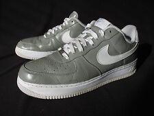 Nike 2008 Air Force I Slam Jam Gray Leather Low 310931-012 Men's US 12 EU46