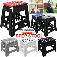 Small Large Step Stool Folding Foldable Multi Purpose Heavy Duty Home Kitchen UK