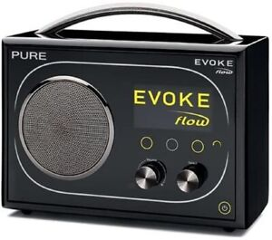Pure Evoke Flow Portable DAB / FM / Internet Radio Black Grade A-