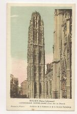rouen cathédrale notre-dame   76  seine maritime