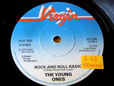 """THE YOUNG ONES - ROCK AND ROLL RADIO  7"""" VINYL"""