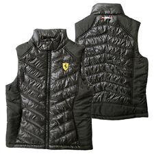 Ferrari Escuderia Padded Vest negro talla xs (caballeros) CHALECO CHALECO deportivos poliéster
