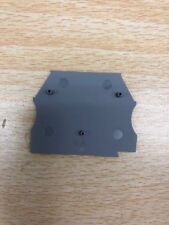 KN-ECT6GRY-25, Konnect-It Terminal Block End Cover, Gray