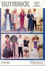"1980'S VTG Butterick Doll Clothes Pattern 4533 Size 11.5"" UNCUT"