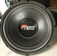 "NEW PAIR Old School Crossfire SVC 12"" Subwoofers,RARE,NOS,NIB,USA MADE"