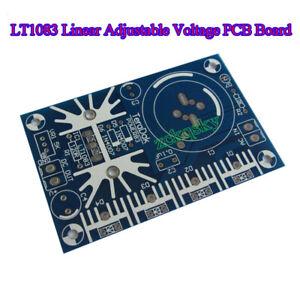 LT1083 7.5A Linear Adjustable Voltage Regulator DC Power Supply Bare PCB Board