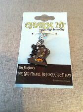 NIGHTMARE BEFORE CHRISTMAS JACK & SALLY CHARM MINT ON MINT CARD