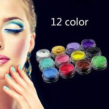 12Color Natural Mica Pigment Powder For Diy Nail Art Makeup Cosmetics Beauty Acc