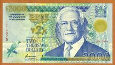 FIJI, $2000 dollars, 2000, Y2K issue, P-103, UNC > Commemorative Millennial