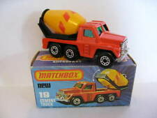 Matchbox Lesney Superfast Number 19 Cement Truck.