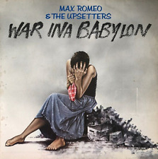 MAX ROMEO & The Upsetters-War Ina Babylon (LP) (G + +/G + +)
