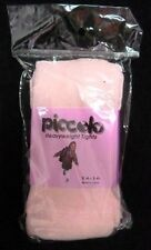 Girls Tights 14-16 Heavyweight Cable Knit 2 Pair Pale Pink Casual Piccolo New