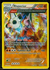 Pokemon RHYPERIOR 77/160 - XY Primal Clash RARE HOLO MINT!