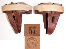 coiffe intérieure cuir brun casque Modèle 35 Troupes motorisées taille 57