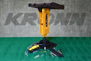 Kronn Hydraulic Hammer Breaker fit to 5000 to 10000 lbs Skid Steer Loader RH-53