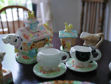 Childrens Country Farmhouse Tea Set serves 4