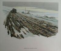 Kampfgebiet Orel Russland Winter 1942/43 vom Kriegs-Berichter H. Schneider