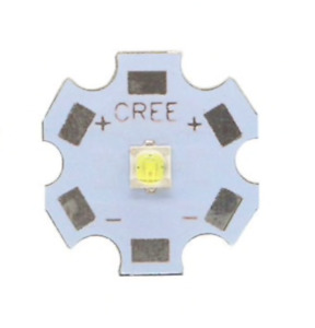 1x LED CREE XML2 XM-L2 T6 10W - Bianco freddo 6500K - Su PCB 20mm