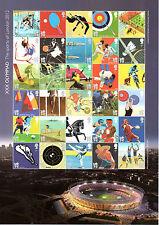 GB London 2012 Olympic Games Sheet of 30 x 1st Class MS3204a Fine U/M