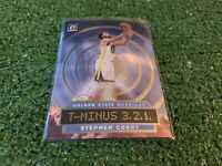 2019-20 STEPH CURRY PANINI OPTIC T-MINUS 3,2,1 SILVER HOLO #6 WARRIORS CLEAN