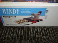 "Dumas No. 1506 23"" LONG WOODEN Windy Airboat Kit~MIB"