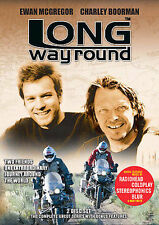LONG WAY ROUND Rare OOP DVD Ewan McGregor Charley Boorman 2-Disc Set Nice