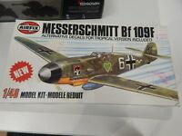 1/48 SCALE PLASTIC MODEL KIT BY AIRFIX Bf109F
