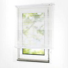 PVC Jalousette Jalousien Kunststoff Lamellen für Fenster und Tür Rollo - WEISS