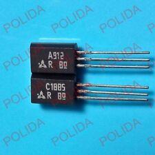 1pairs OR 2PCS  Transistor PANASONIC TO-92L 2SA912/2SC1885 A912/C1885