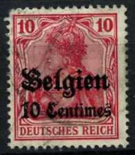 Belgium German Occupation 1914 Sg#3, 10c On 10pf Used #D61598