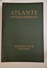 ATLANTE INTERNAZIONALE Touring Club Italiano + Indice dei nomi 1956