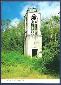Remains of Church Tower on Saipan Northern Mariana Islands