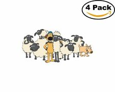 Shaun the Sheep Movie 4 Stickers 4X4 Inches Sticker 6