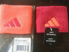 NWT Adidas 1 pair Unisex Tennis Running Training  wristbands terry Loop