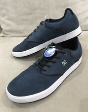 DC Shoes Blue Suede Low-Top Mikey Taylor Mens Skateboard Sneakers 9 US Ortholite