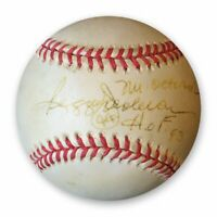 Reggie Jackson Signed Autographed American League Baseball Inscribed JSA T48957