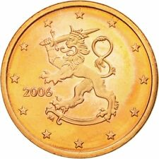 [#585189] Finlande, 5 Euro Cent, 2006, SUP, Copper Plated Steel, KM:100