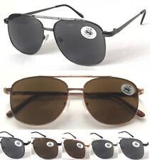 SL488 Classic Reading Sunglasses/UV400 Protection/Oversize Double Bridges Design