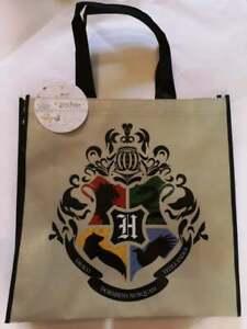 Official Harry Potter HOGWARTS HOUSE CREST EMBLEM Reusable Shopper Bag Gift
