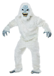 Abominable Snowman Beast Yeti Adult Costume One Size Only